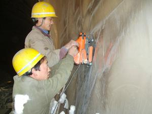 隧道EVA防水板焊接